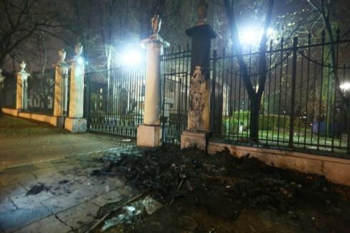 поляки у посольства рф