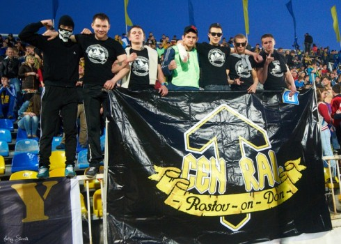 фото с полуфинала Кубка России 2013/14 Ростов - Луч-Энергия