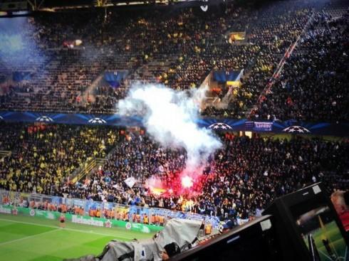 фанаты Зенита в Дортмунде